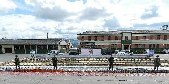 Ejército incauta mercancía avaluada en más de $400 millones en Nariño