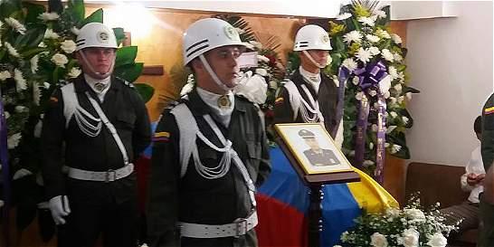 Intendente Alexander Méndez será sepultado este domingo en Cali