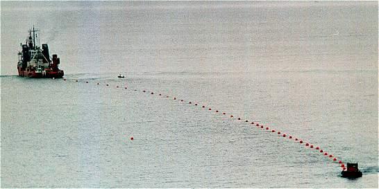 Presentan avance de cable submarino para comunicaciones