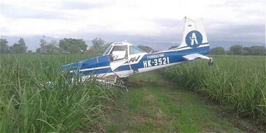 Accidente aéreo en Guacarí, en el suroccidente de Cali