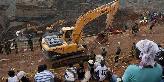 Deslizamiento en mina en el Cauca dejó cuatro muertos