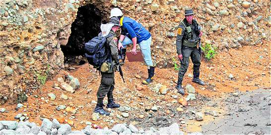 En el Cauca cierran 20 túneles de minería ilegal de oro