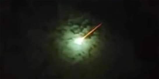 'Objeto brillante en el cielo sería un meteoro o bólido'
