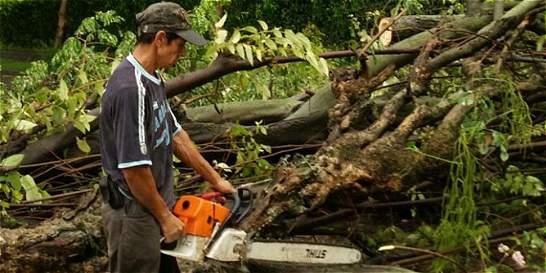 Emergencias por aguaceros en 10 municipios del Valle y norte de Cauca