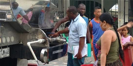 Declaran calamidad pública en Buenaventura por falta de agua