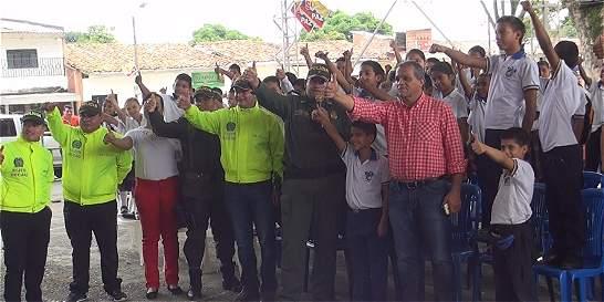 En Cauca, policía recuperó computadores hurtados en un colegio