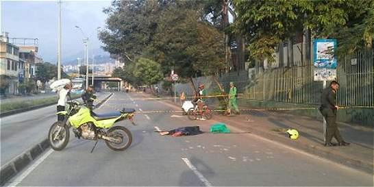 Hallan un cadáver en una vía junto a colegio del centro caleño