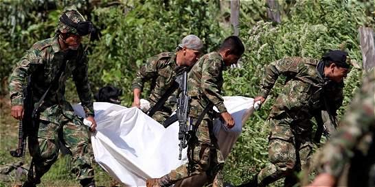 Pliego de cargos a 9 militares por fallas en ataque de Farc en Cauca