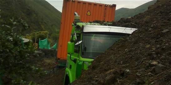 Derrumbe afecta movilidad en la Vía Buga-Buenaventuraventura