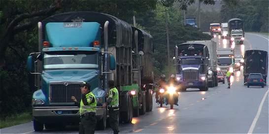 Camioneros del Valle no participarían en paro de transportadores