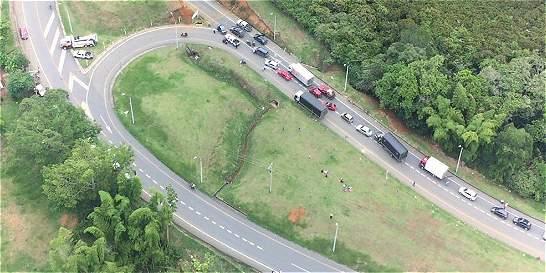 Fue desbloqueada la vía Panamericana; será por 36 horas