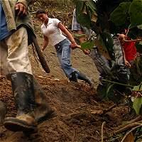Por derrumbes está cerrada transversal en el oriente del Cauca