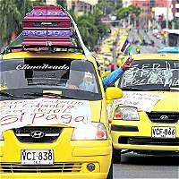 Taxistas caleños apoyarán nueva jornada de protesta a nivel nacional