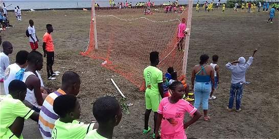 Sello inglés para un gol contra la violencia en Buenaventura