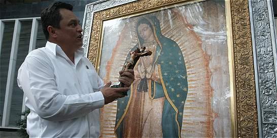 La Virgen de Guadalupe lleva dos años en Cali