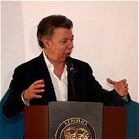 Acuerdos del proceso de paz no se podrían renegociar, aseguró Santos