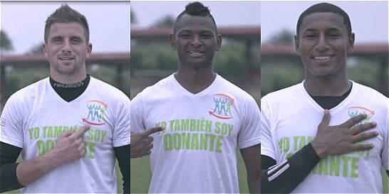 Futbolistas de clubes caleños, en campaña por donación de órganos