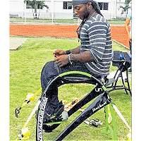 La asombrosa silla diseñada a la medida para un campeón paralímpico