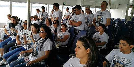 Homilía en alta mar por los buzos Carlos Jiménez y Érika Díaz