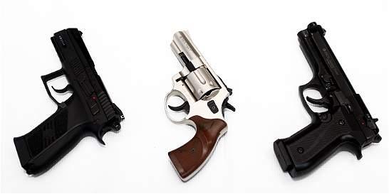 Delincuentes cometían robos con armas deportivas en Cali