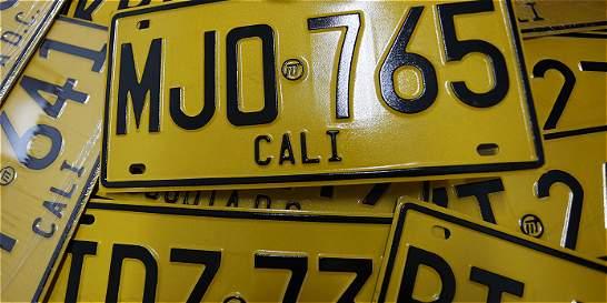 Más de 50 mil carros, exentos de pico y placa en Cali