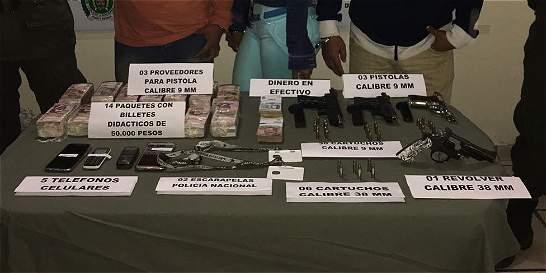 En operativos incautan más de 300 kilos de cocaína y $458 millones