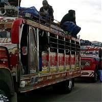 Indígenas caucanos emprendieron viaje hacia Bogotá