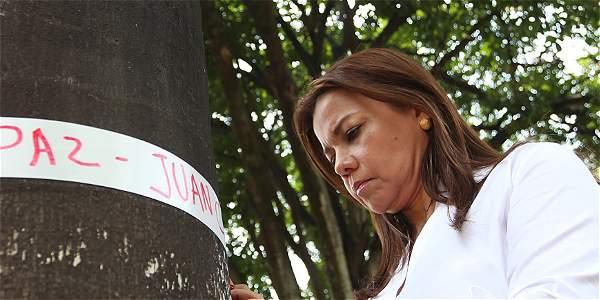 Se lanzó campaña para que los colombianos no se olviden del proceso de paz.