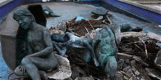En Cali, indignación por destrucción de monumento en la avenida Sexta