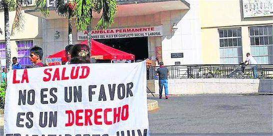 Gobernadora del Valle defiende intervención del HUV
