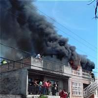 Incendio despertó a habitantes del oriente de Cali