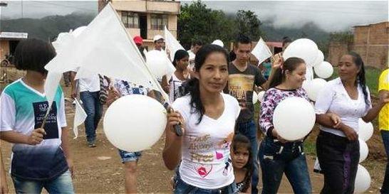 Vigilias por las paz en Cauca y Nariño