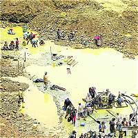 Capturan a presunto capo de la minería ilegal en el Pacífico caucano