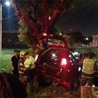 Accidente vial en el sur de Cali compromete a cuatro menores