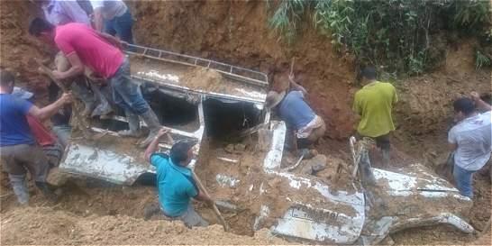 Varada mortal deja 9 muertos por alud en El Tambo, Cauca