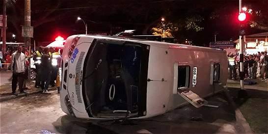 Dos accidentes en Cali y Palmira dejan 22 lesionados