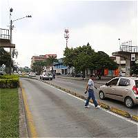Puente de la calle Quinta con 24.