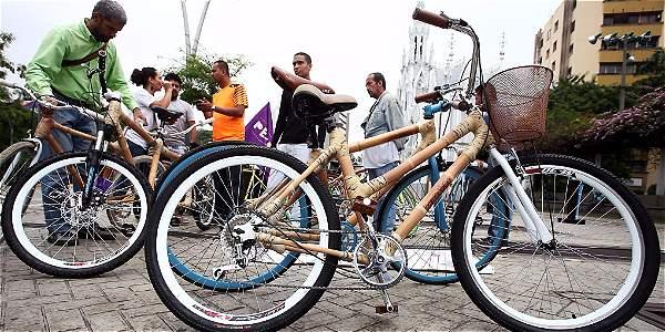 Bicicletas de bambú harán parte del festival