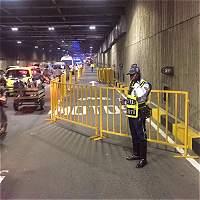 Tráfico lento por cierre parcial del tunel de la Avenida Colombia