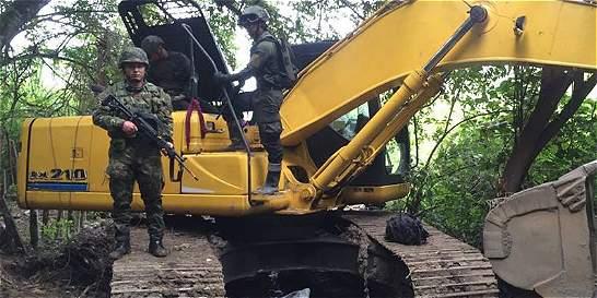 Más de 170 capturas por minería ilegal en suroccidente del país