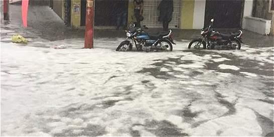 Bloques de hielo pusieron en emergencia a Popayán