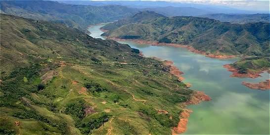 Embalse de la Salvajina con buena agua para enfrentar la sequía