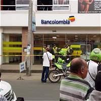Dos heridos en intento de atraco a banco en Jamundí