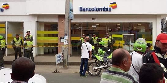 Drama de cajeras en intento de asalto a banco en Jamundí