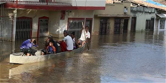 En Cali se deben evacuar a 6.800 familias tras creciente del río Cauca