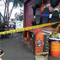Mecánico de motos fue asesinado en el centro de Cali