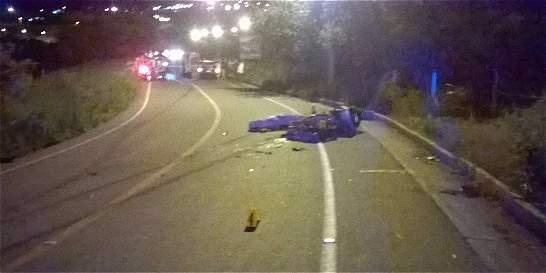Tres muertos en dos accidentes en vías del Valle