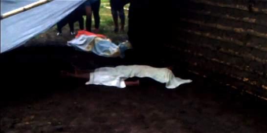 Rayo dejó tres indígenas muertos en Santander de Quilichao, Cauca
