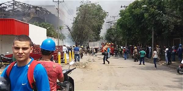 Cuatro heridos en explosión de caldera en Siderúrgica Sidoc en Acopi