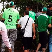 Hinchas del Deportivo Cali reclamaron en Pance mejores resultados